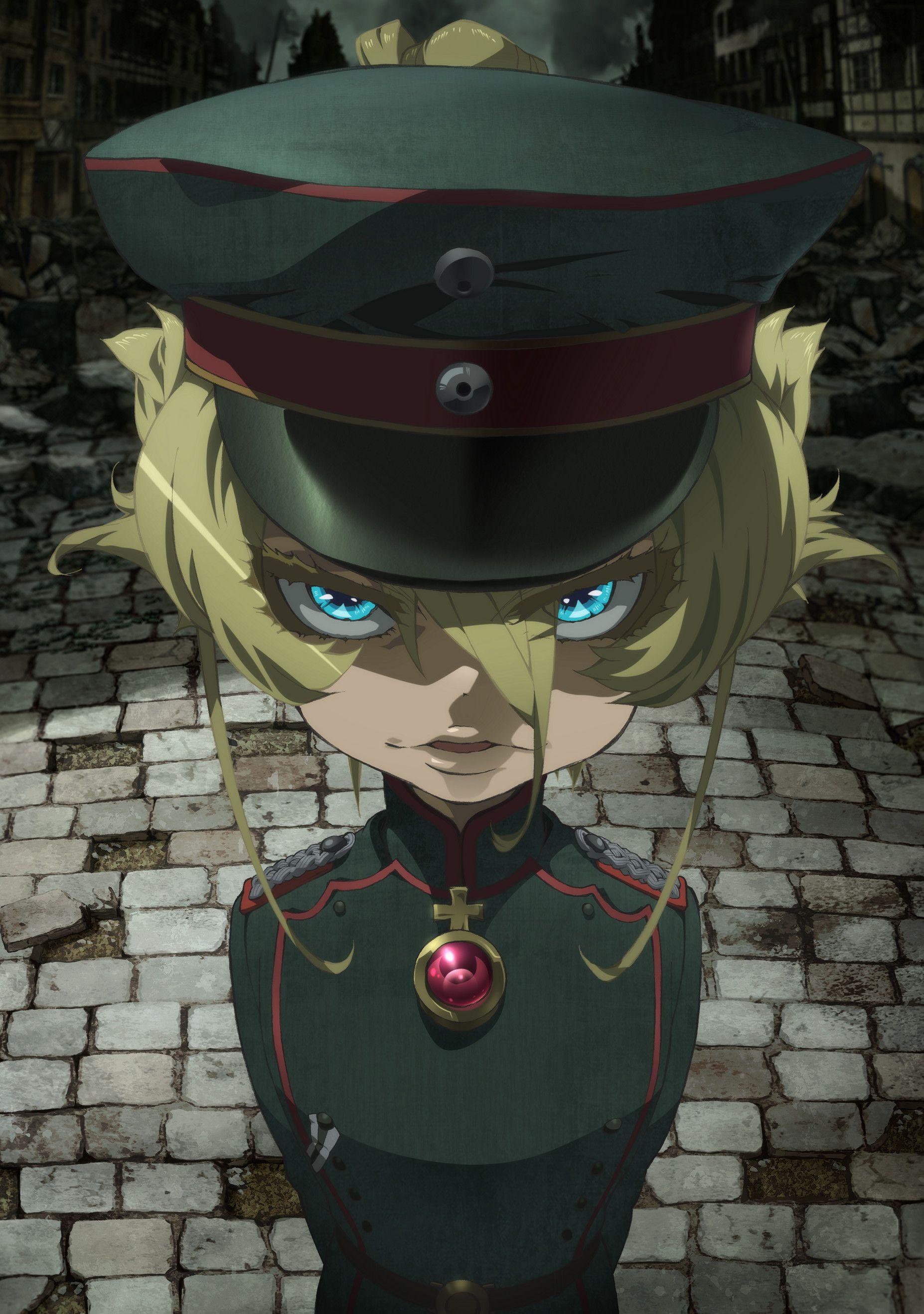 Youjo Senki 01 12 Evil anime, Tanya the evil, Anime
