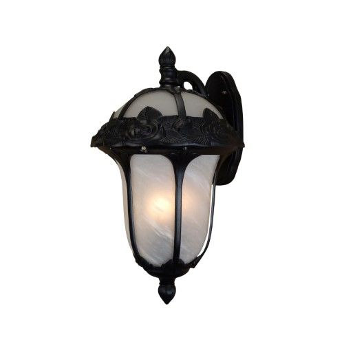 Special Lite Products Rose Garden F3711 Outdoor Top Mount Wall Light, Black is part of Rose garden Products - Graceful curves and highly embossed rose petals make the Special Lite Products Rose Garden F3711 Outdoor Top Mount Wall Light that perfect finishing touch for your home  This cast aluminum outdoor wall lantern is maintenancefree and enriched by premium glass  Customize by choosing from available powdercoat finish and glass options  It requires one or more light bulbs  One of the leading designers and manufacturers of decorative aluminum outdoor products for over 50 years, Special Lite is a brand you can rely on for adding fashionable and functional accents to your landscape  Founded in 1967 by Edward and Joanna Lamolinara, Special Lite has risen from little Pennsylvania shop to one of the biggest producers and distributors in its industry  Most impressive is how the company has managed to broaden its reach across this great nation while remaining family owned and operated! In fact, you could say that it's the company's personal touch that has made the innovative brand the preferred choice of thousands of builders, developers, and homeowners alike  And Special Lite isn't just about providing quality luminaries! Special Lite's diverse catalog also boasts an incredible selection of mailboxes, signs, and more  (SPEI5291) Color Black