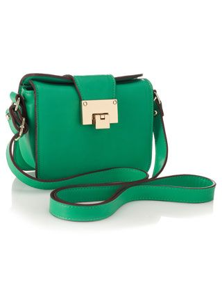 6aed1e5d649c Emerald  green cross body  bag