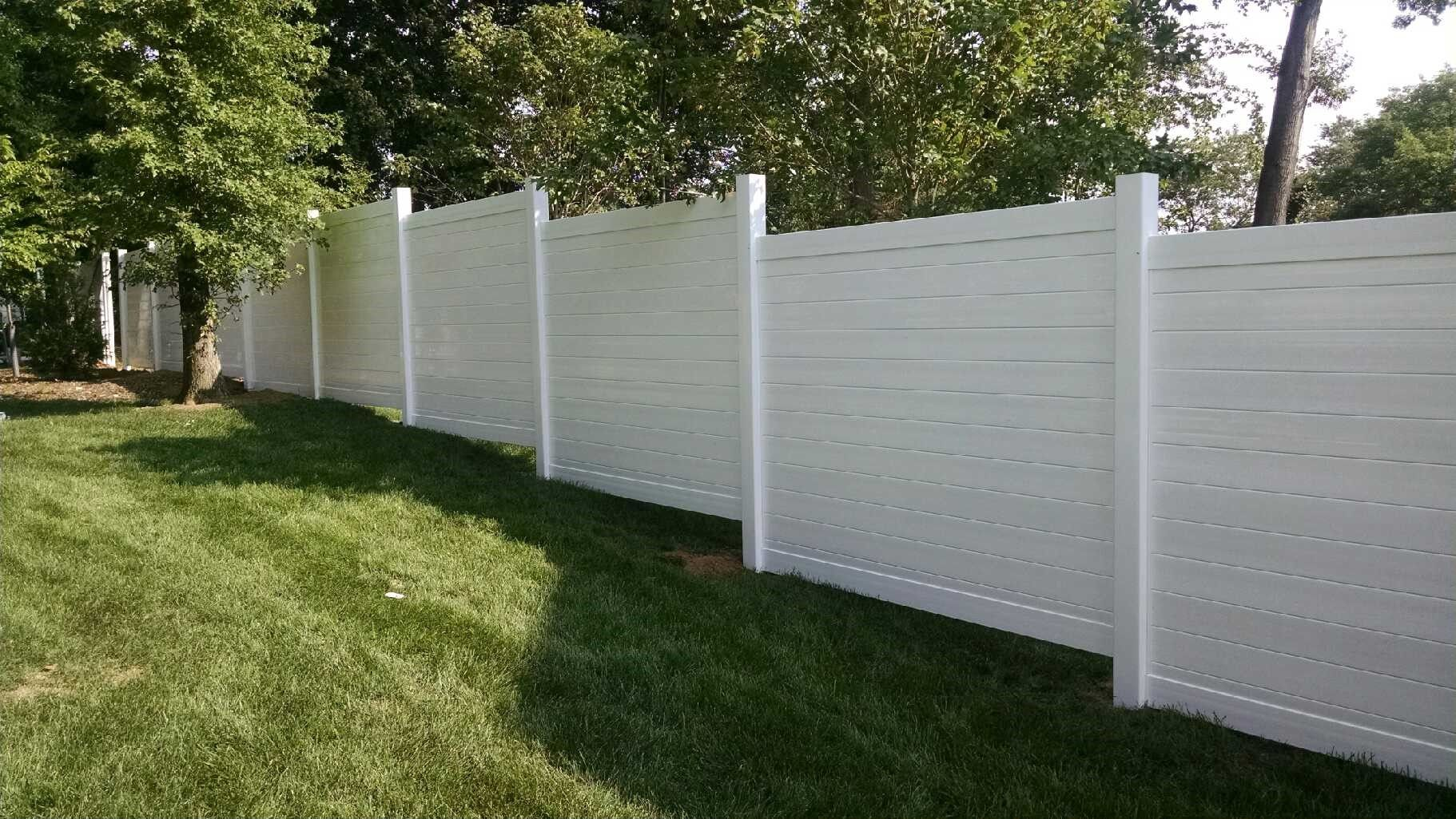Check Out Our Latest Edition A Solid Pvc Fence With Horizontal