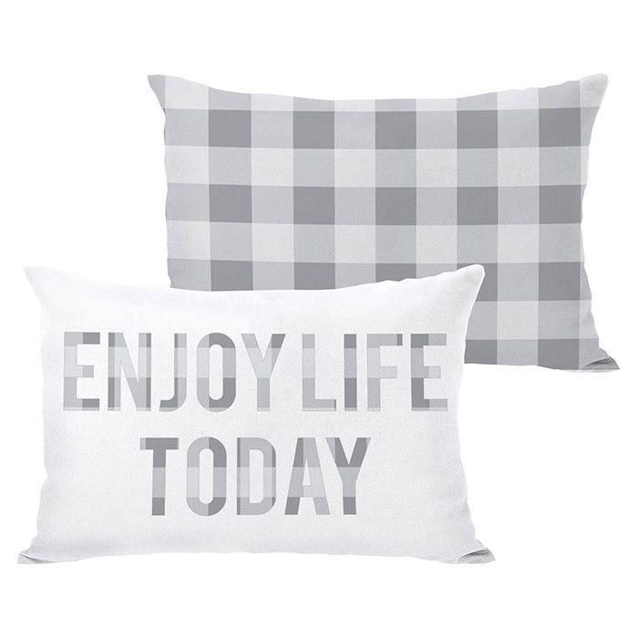 Enjoy Life Today Enjoy Life Pillows Plush Pillows