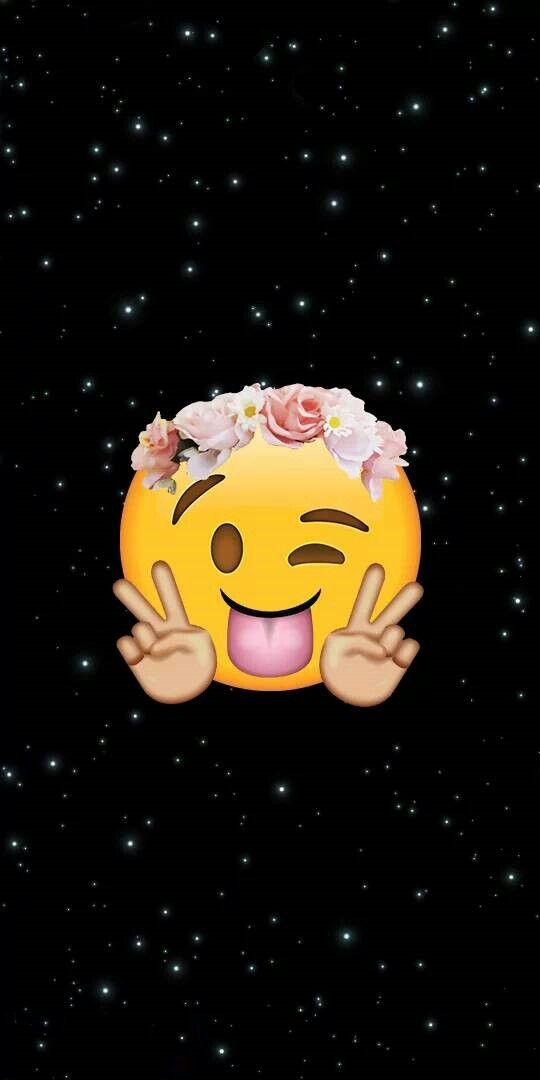 Hermoso Fondo Emoji Fondos Fondos De Pantalla Divertidos Para