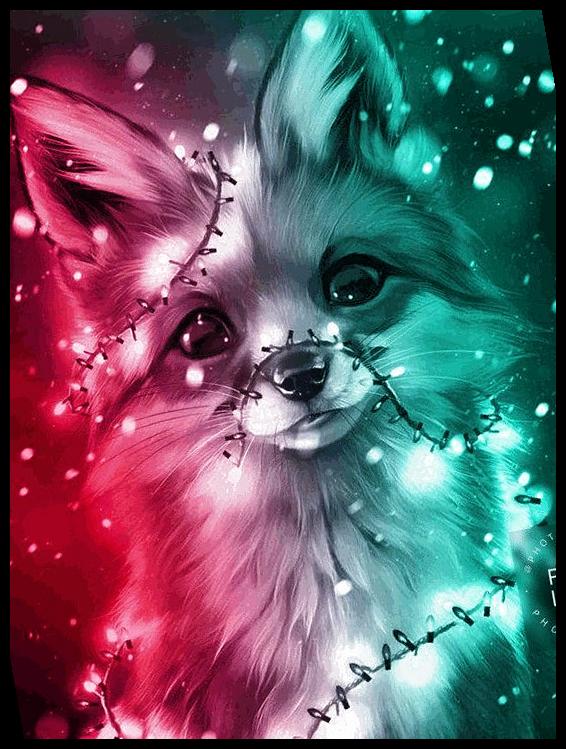 Christmas 46 Christmas Lights Wallpaper Cartoon 2020 Niedliche Tierzeichnungen Tierillustration Niedliche Tierbilder
