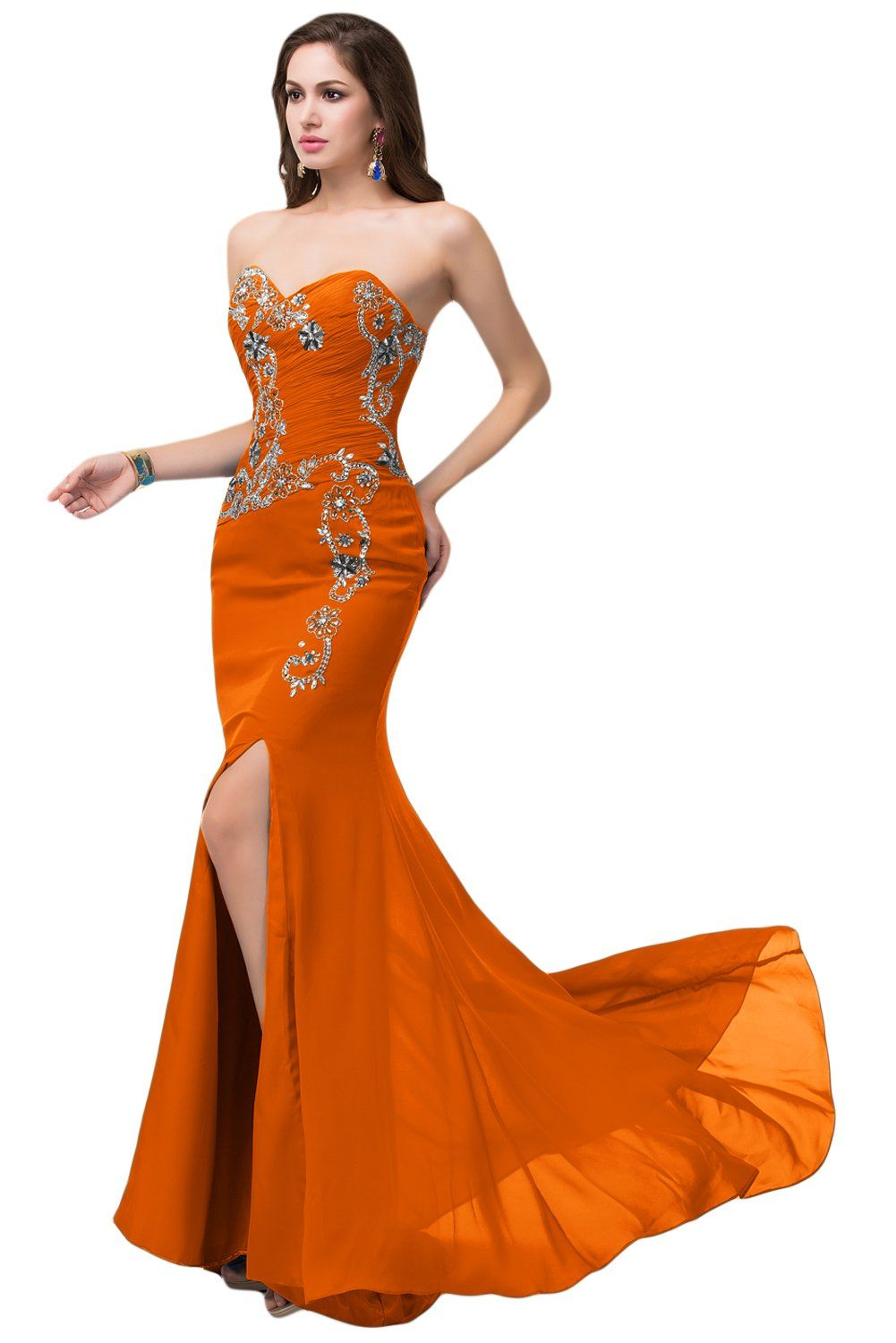 Amazon.com: Sunvary Sexy Woman Mermaid Wedding Guest Bridesmaid Dresses Formal Gowns: Clothing