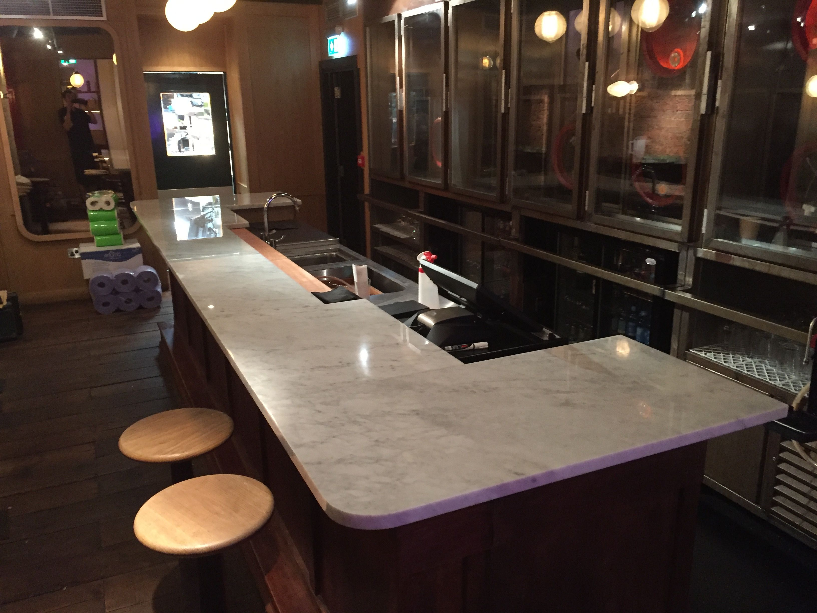 Exceptionnel Lovely Carrara Marble Bar Top By Ju0026R Marble. Https://www.jrmarble