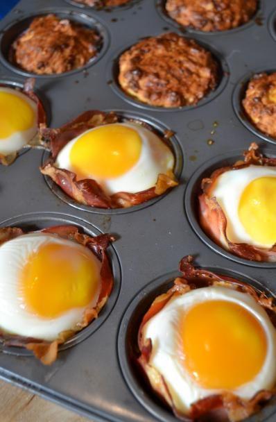 Munakkaat muffinipellillä