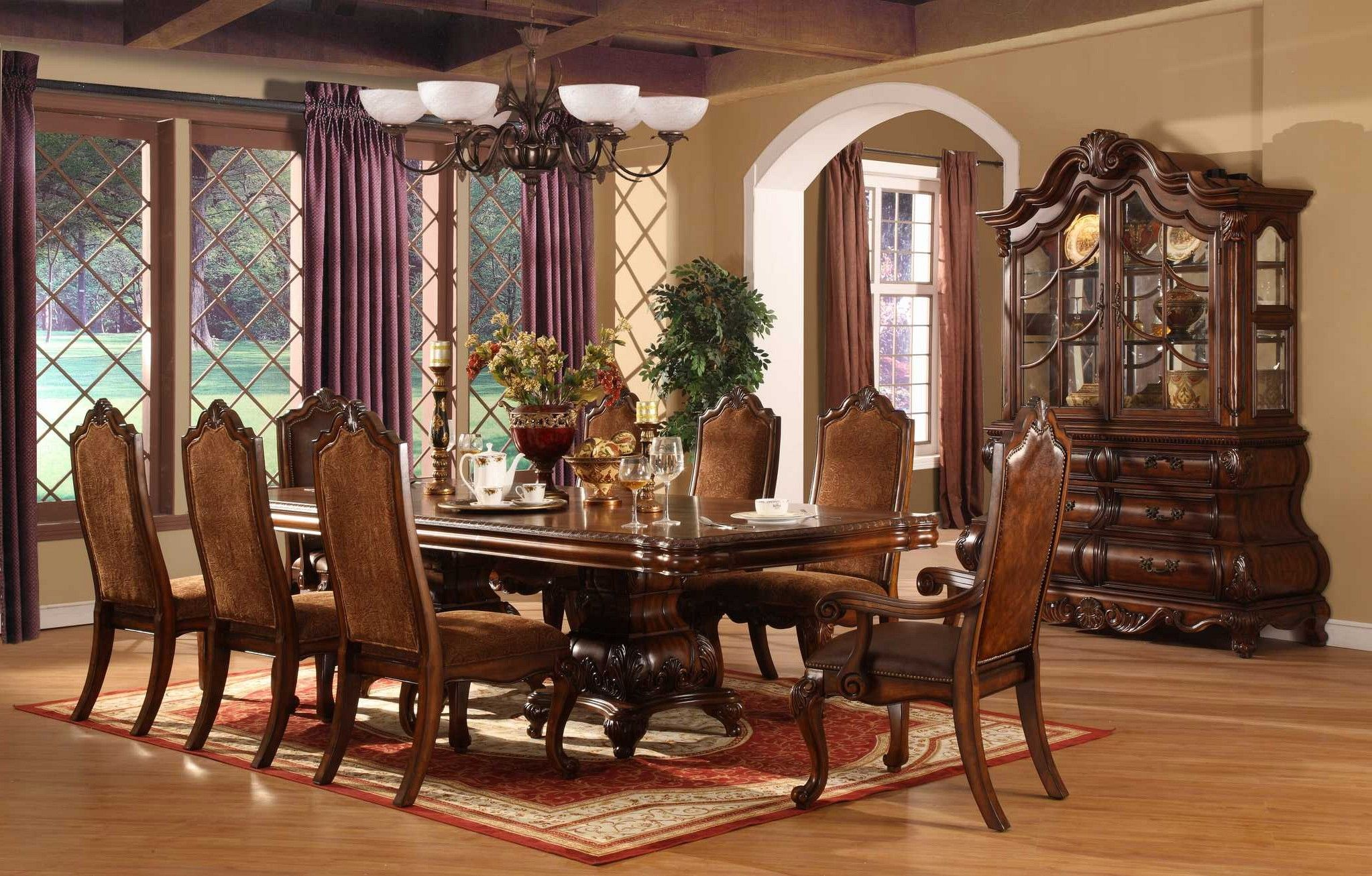 Décor For Formal Dining Room Designs Decor Around The World Elegant Dining Room Wood Living Room Decor White Living Room Decor