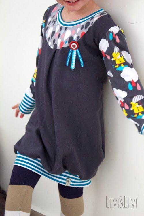 Kleid | langärmelig …: | kids : handmade : clothes | Pinterest ...
