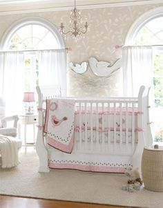 Charming Pottery Barn Kids   Love The Clean Light Colored Walls! With White And Pink  Decor. Pictures Gallery