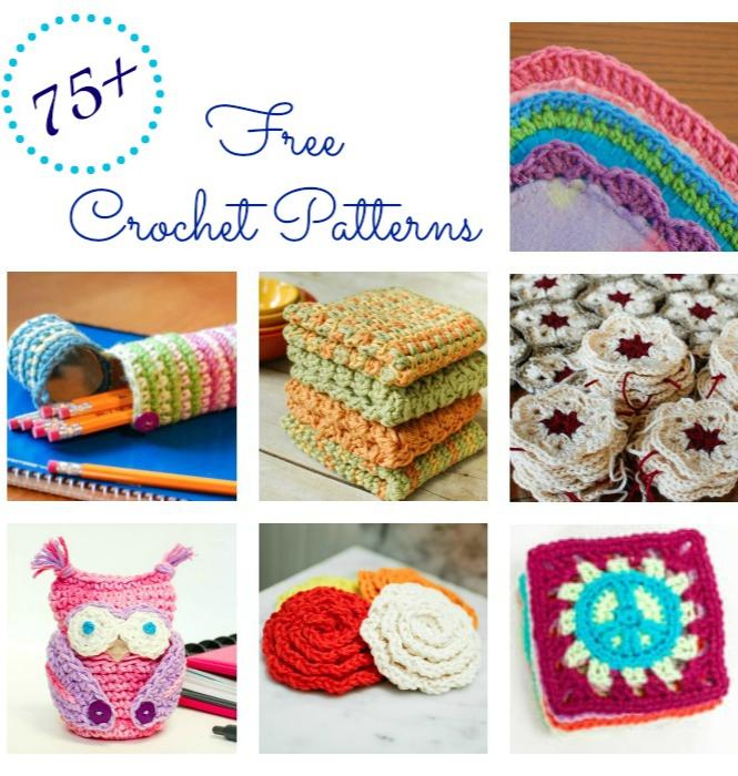 Over 200 Free Crochet Patterns   Patrón gratis, Ganchillo y Patrones