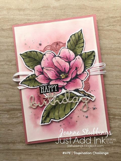 Hello greeting card with flowers and spots suitable for any age