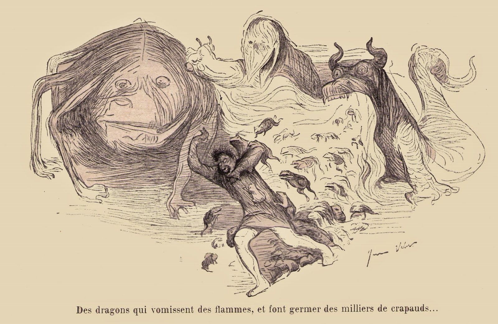 the spectral dimension: jean veber's enchanted grotesques