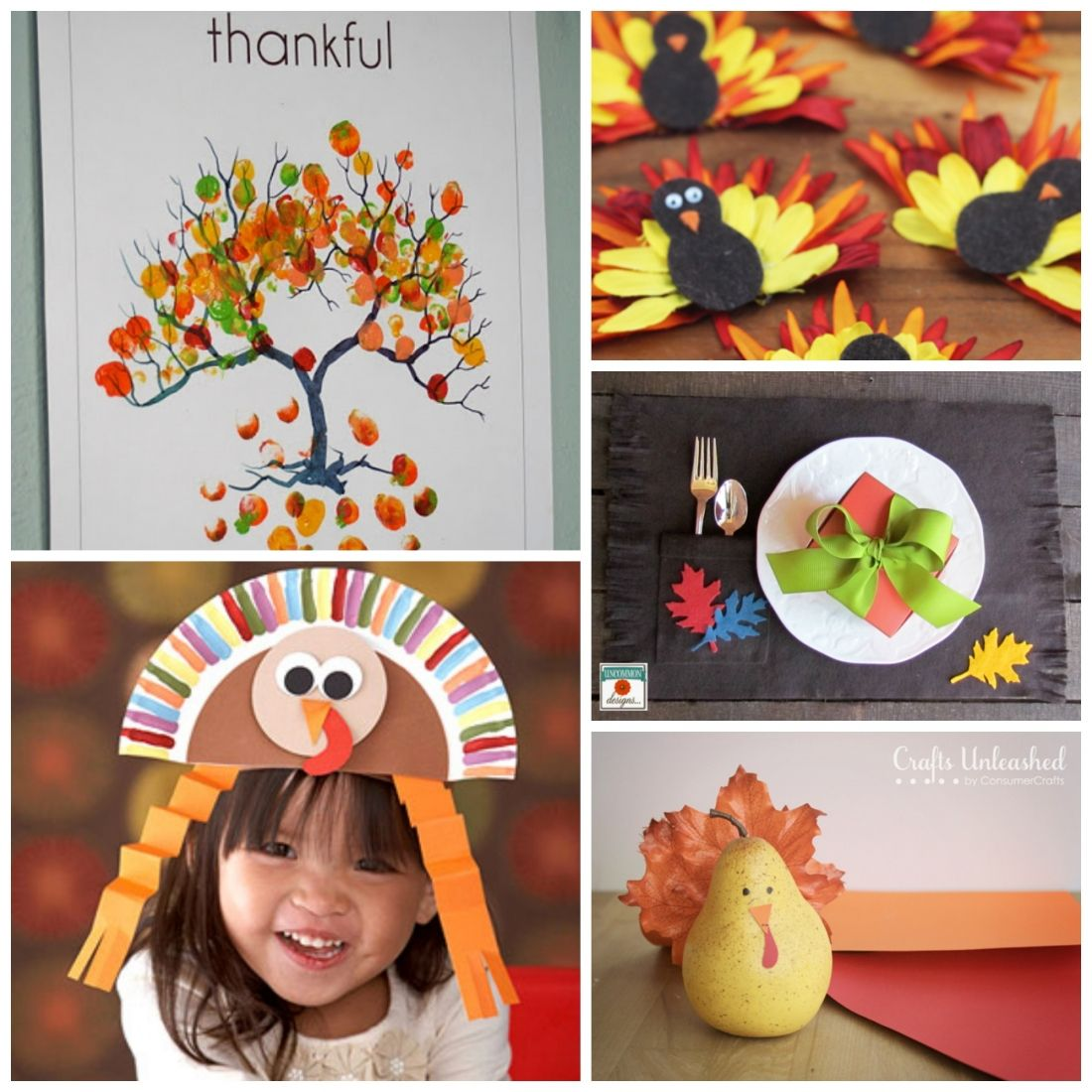 Thanksgiving Craft Ideas For Kids Part - 30: Thanksgiving Ideas