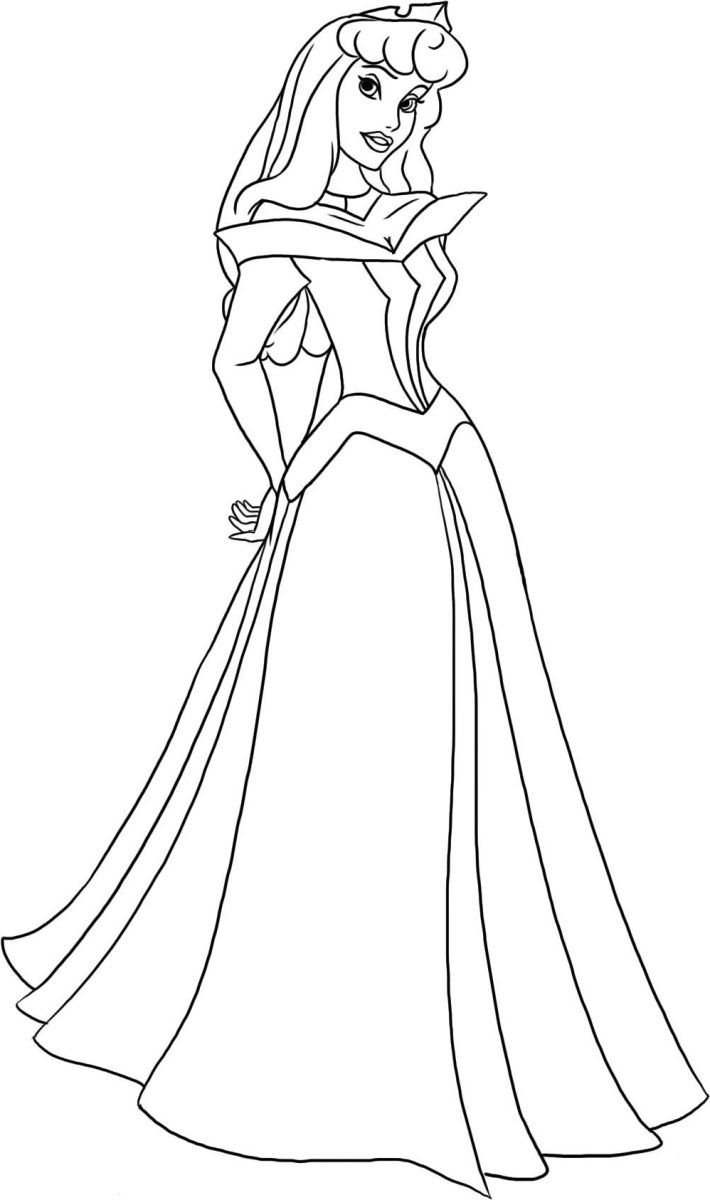 Ausmalbilder Prinzessin Dornröschen Ausmalbilder Disney