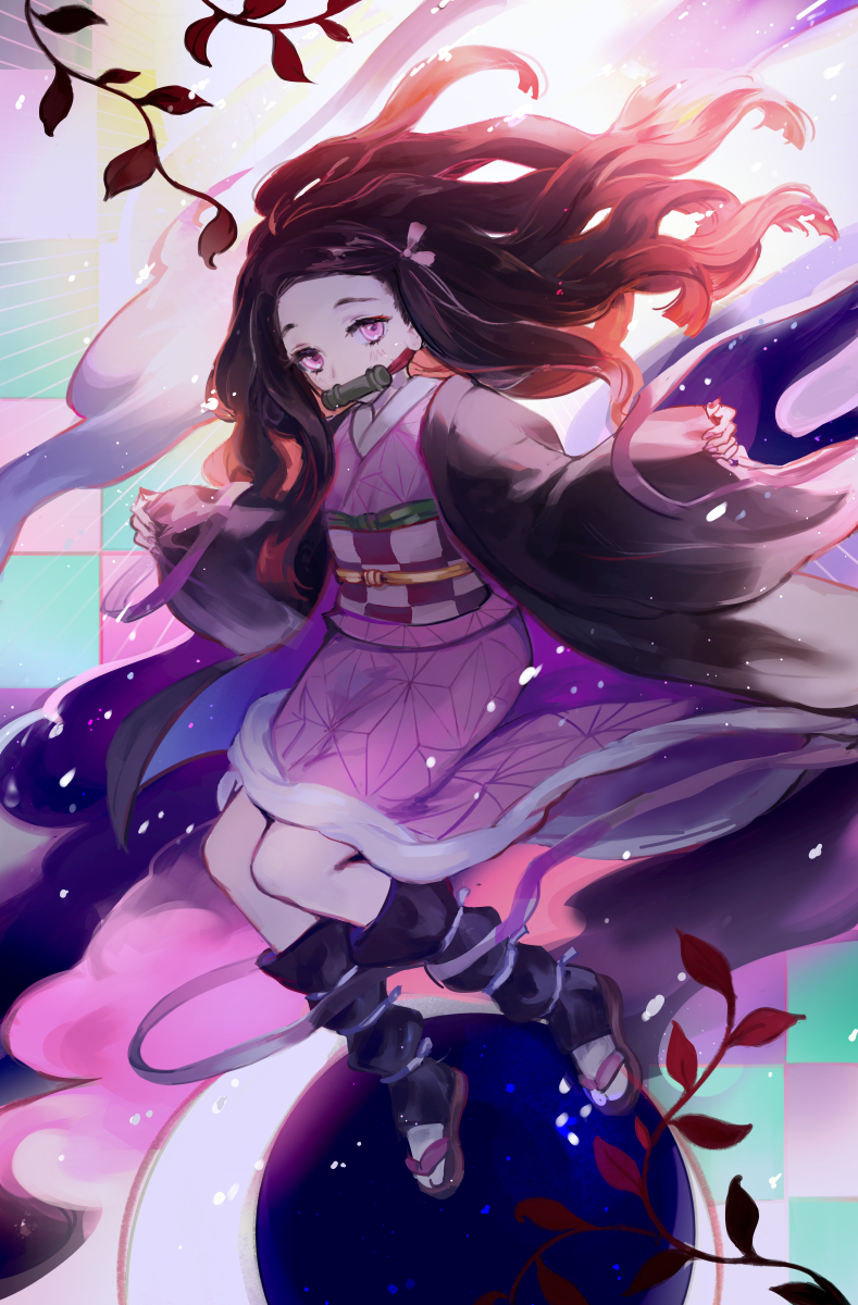 Nezuko Kamado Anime, Nghệ thuật anime, Nghệ thuật