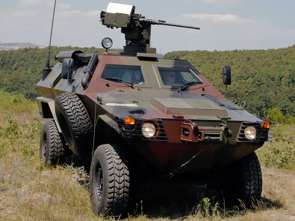 Cobra II Tactical Wheeled Armoured Vehicle