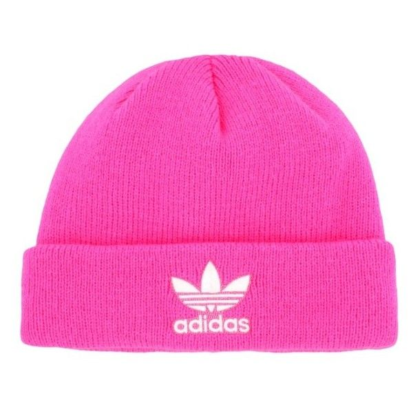 Adidas Originals Trefoil Ii Knit Cap ($20) ❤ liked on Polyvore featuring  accessories,