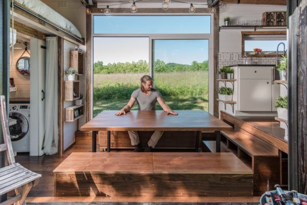 The Alpha Tiny House by New Frontier Tiny Homes