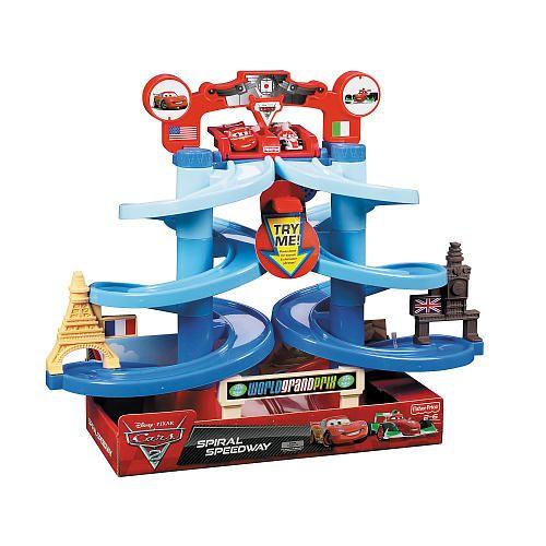 Fisher Price Disney Pixar Cars 2 Spiral Speedway