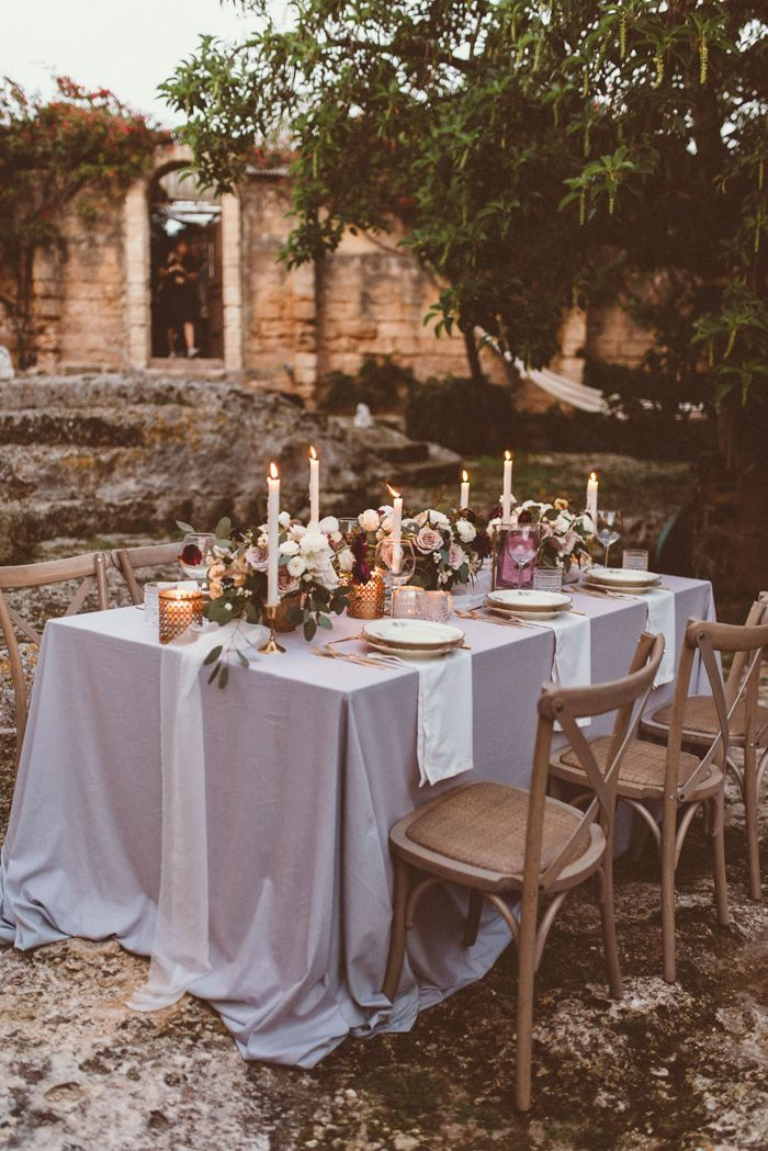 This Romantic Masseria Montenapoleone Wedding Inspiration Is