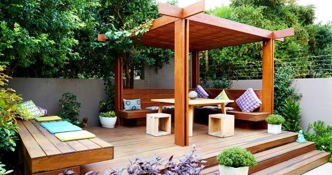 Elegant Terrassen » Moderne Dachterrasse Bietet Mehrere Unterhaltungsmöglichkeiten  An #bietet #dachterrasse #mehrere #moderne