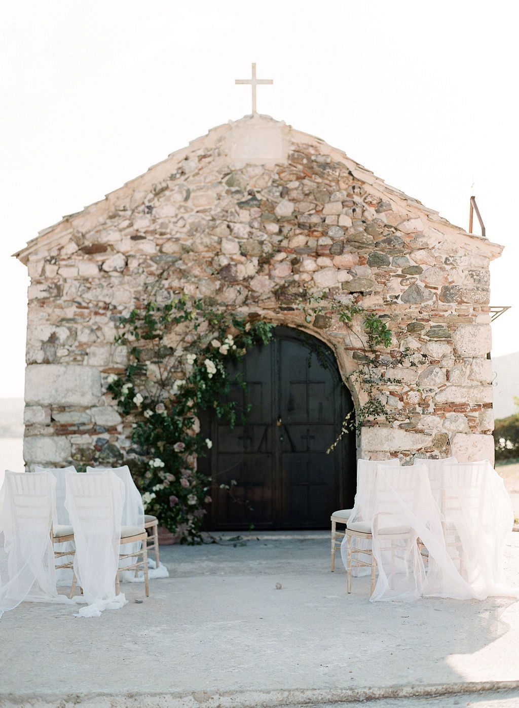 A truly romantic wedding venue in Greece featuring this darling little stone church—a perfect place for the ceremony itself.  The beautiful vines around the do... #Blog #boho wedding decor #Church #Greek #hochzeitsdeko #hochzeitsdeko holz #hochzeitsdeko saal #hochzeitsdeko selber machen #hochzeitsdeko tisch #hochzeitsdeko vintage #Ideas #modern wedding decor #Neutral #outdoor #romantic wedding decor #Sparrow #Wedding #wedding decor #wedding decor diy #wedding decor ideas #wedding decoration
