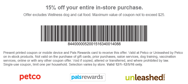 Http S7d1 Scene7 Com Is Image Petco 20161130fnf Entirecoupon Fmt Png Cm Mmc Empetco Promotions Ptc P Bnd Em Ptc Promo Fw45 2016 Print Coupons Petco Coupons