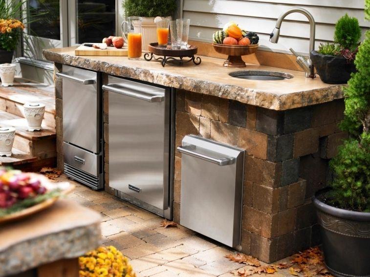 Kleine Outdoor Küche Bauen : Outdoor kitchen sink stainless steel sink ideas pinterest
