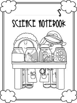 Journal Covers Science Notebook Cover First Grade Science