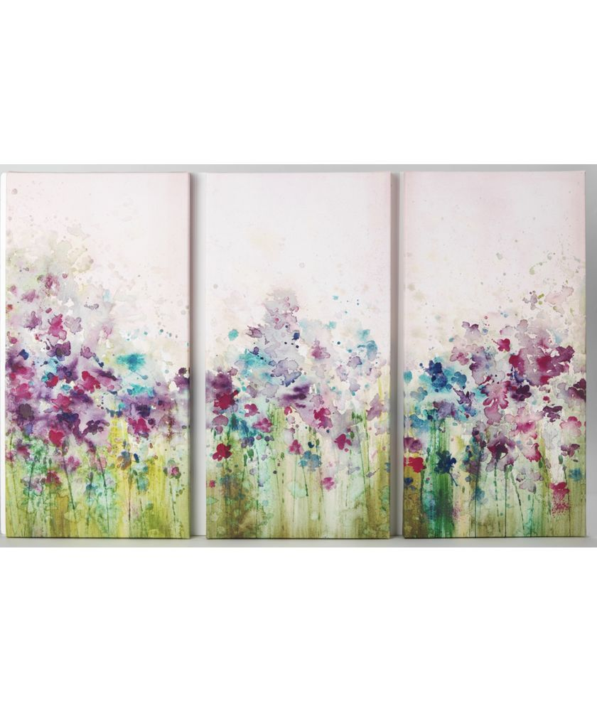 Buy Graham Brown Watercolour Meadow Triptych Canvas Set Of 3