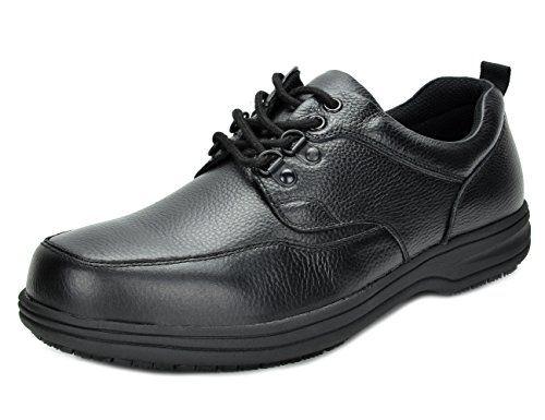 Rockport LTP Apron Toe Hombre US 11 Negro Zapato juWdF1