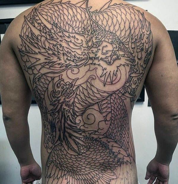 40 Phoenix Back Tattoo Designs For Men Flaming Bird Ideas Phoenix Back Tattoo Tattoo Designs Men Back Tattoo