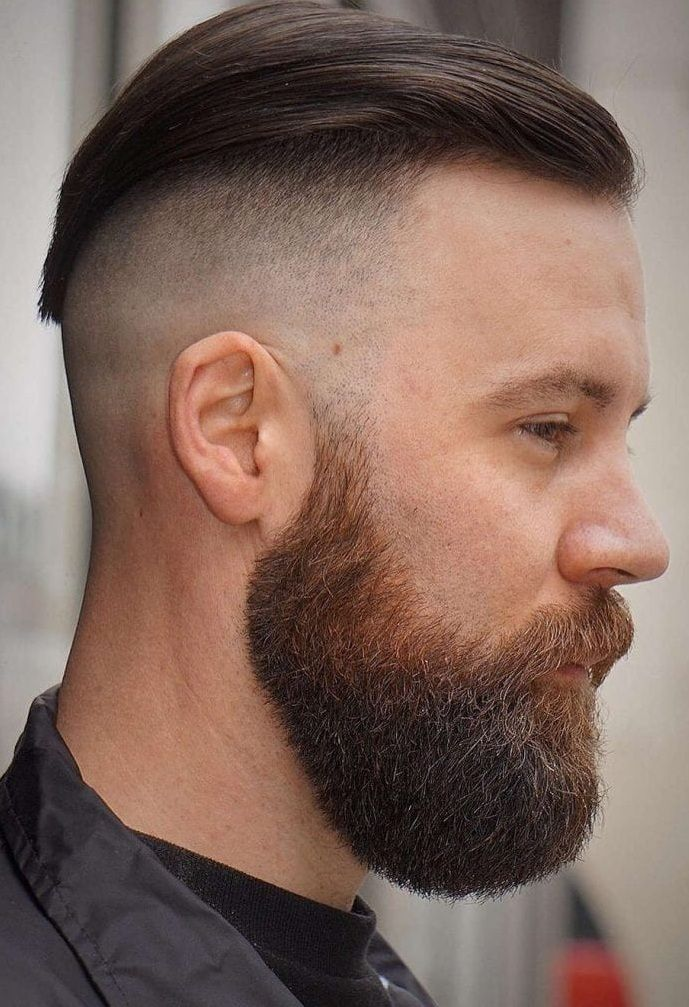 13 Beards For The Most Popular Hairstyles With Very Short Sides