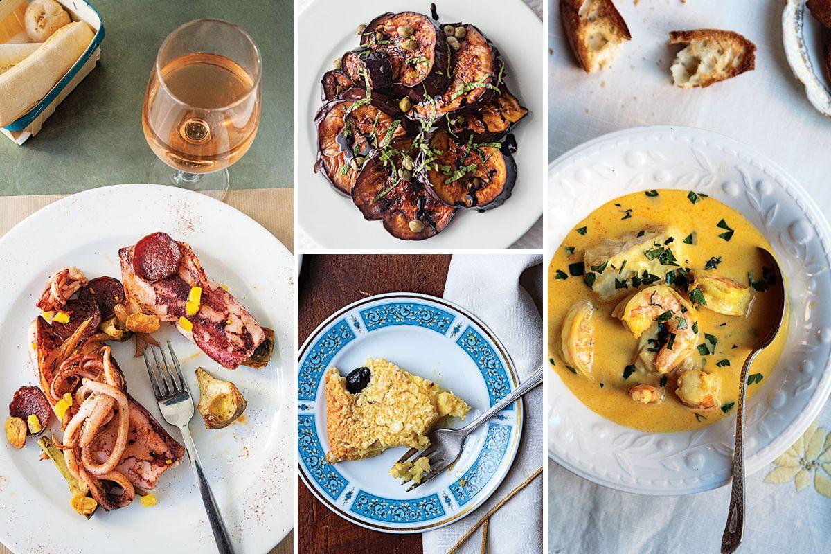 Menu A Coastal French Dinner Saveur Wine Recipes Food Gourmet Recipes
