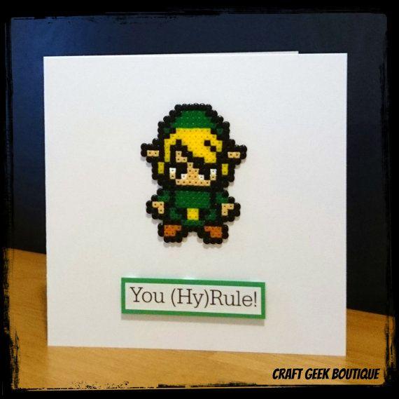 Zelda, Manualidades, Tarjetas