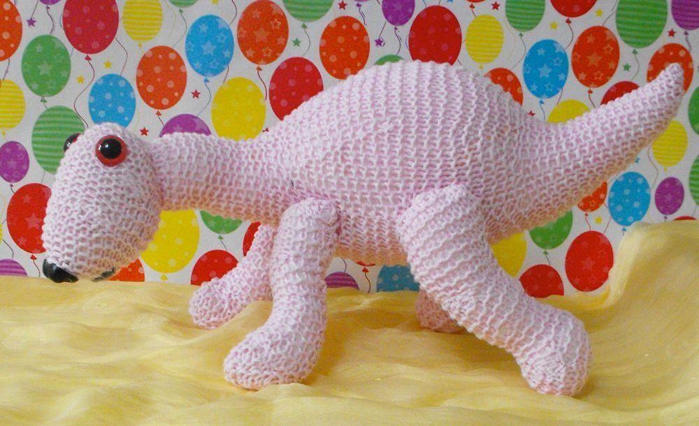 11 Dinosaur Knitting Patterns | Knit patterns, Toy and Patterns