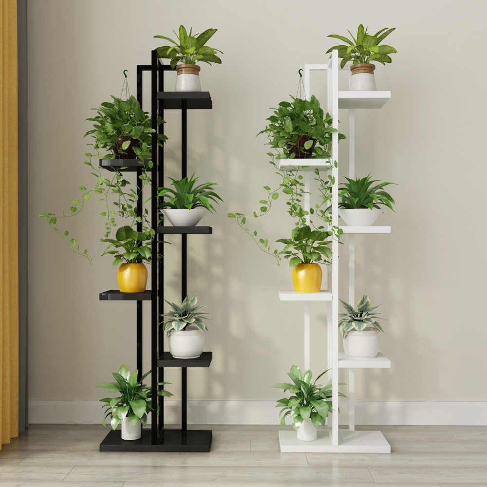 Free Shipping Standing Flower Shelf Living Room Balcony Plant