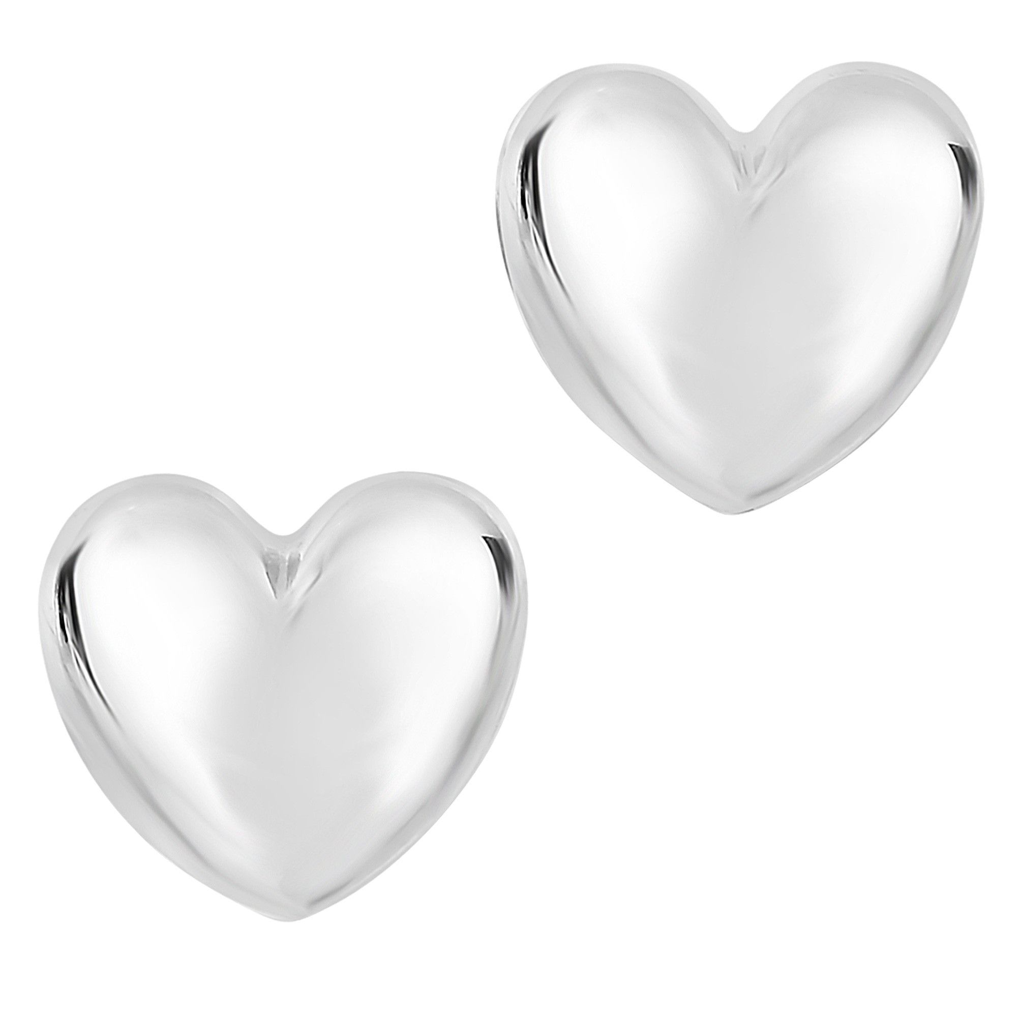 orders stud jewellery earrings heart mo carat yellow sp shape plain market gold