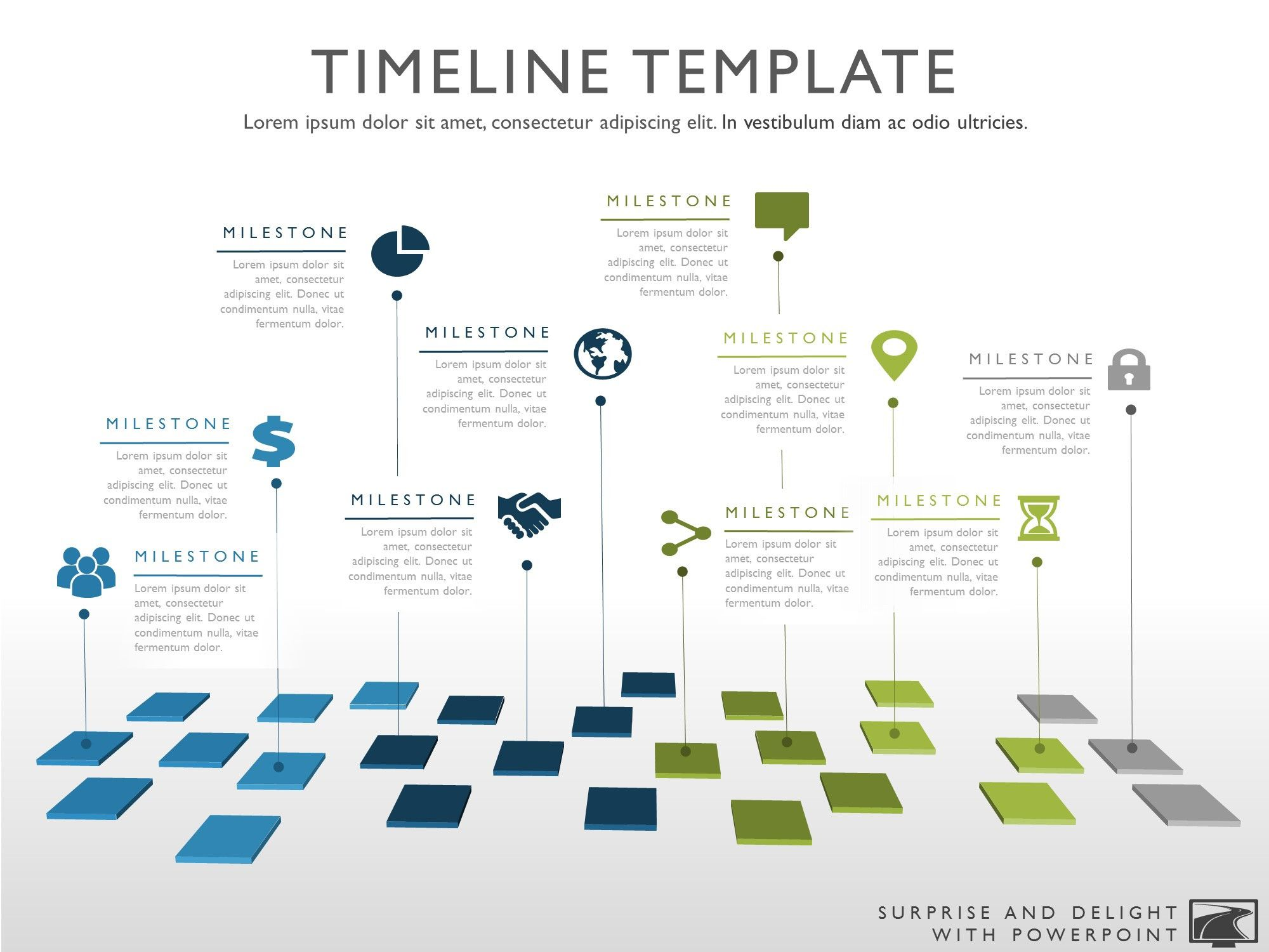 Timeline template my product roadmap work 1 for Timline template