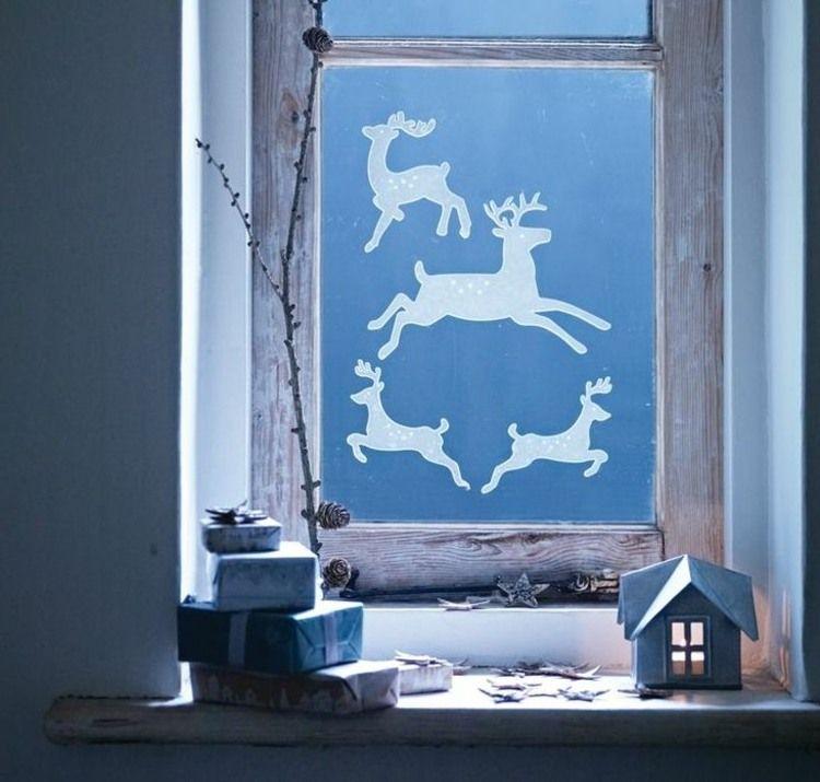 50+ Fensterbilder weihnachten selber machen Sammlung