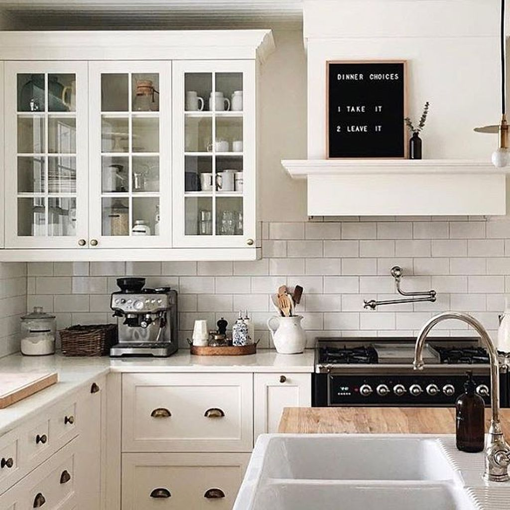 60+ Modern Farmhouse Kitchen Design Ideas