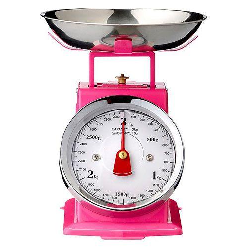 Bloomingville Küchenwaage Pink