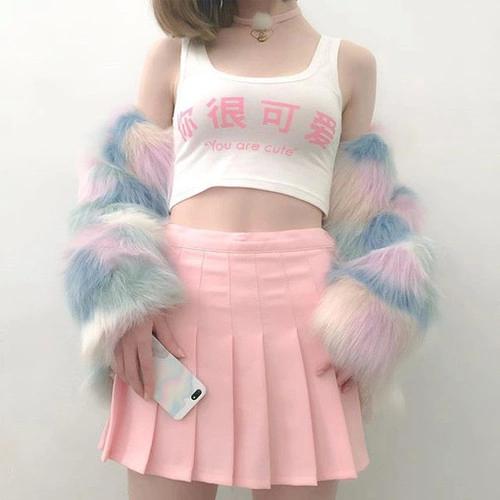 Image result for pastel vaporwave fashion
