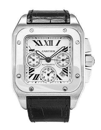 f0d72637e38 Cartier Santos 100 W20090X8 - Product Code 63320 Relógios Masculinos Cartier