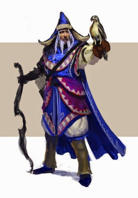 the blue wizard alatar also called morinehtar was chosen by