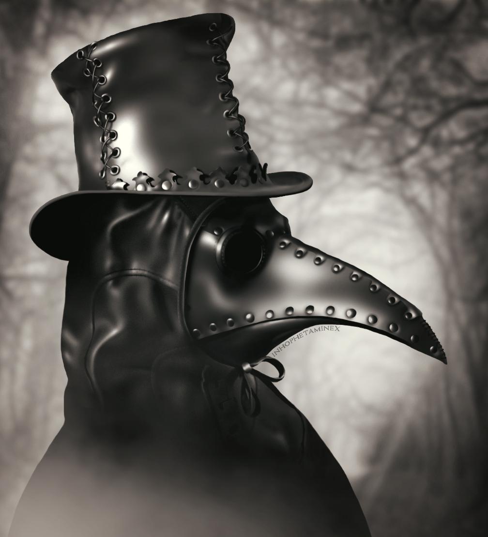 Plague Doctor By Inhophetaminex Deviantart Com On Deviantart Mask Hat And Hood By Tom Banwell Plague Doctor Plague Mask Doctor Tattoo
