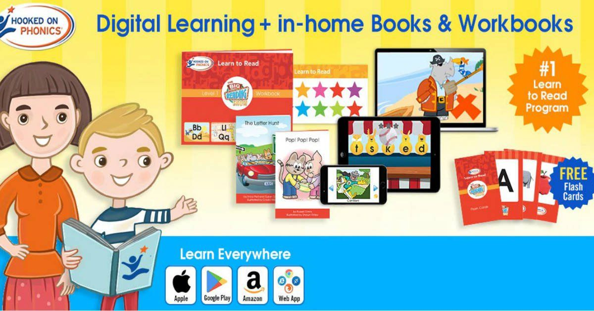 Hooked On Phonics Level 1 Kit