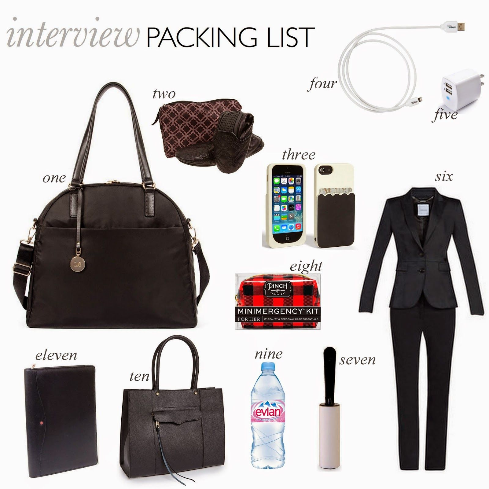 A LITTLE BIT OF LACQUER: Interview Packing List | Doctor in