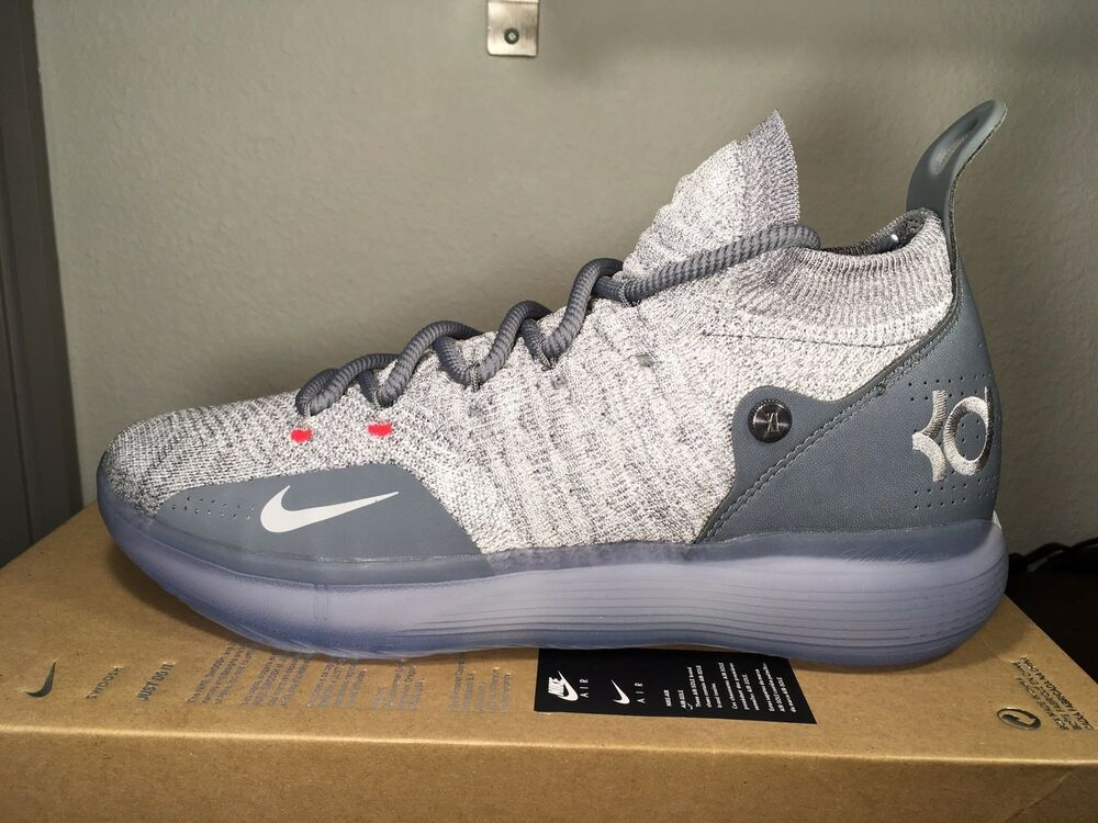 ed9fbcfc4b3c NIKE AIR ZOOM KEVIN DURANT KD11 Cool Grey AO2604-002 Size 9 AUTHENTIC NIB   fashion  clothing  shoes  accessories  mensshoes  athleticshoes (ebay link)