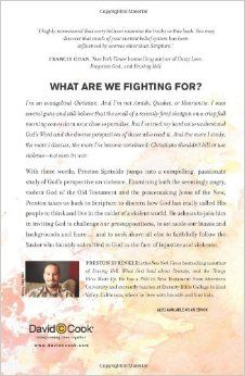Fight: A Christian Case for Non-Violence: Preston Sprinkle, Featured Speaker at Reckless Grace 2014